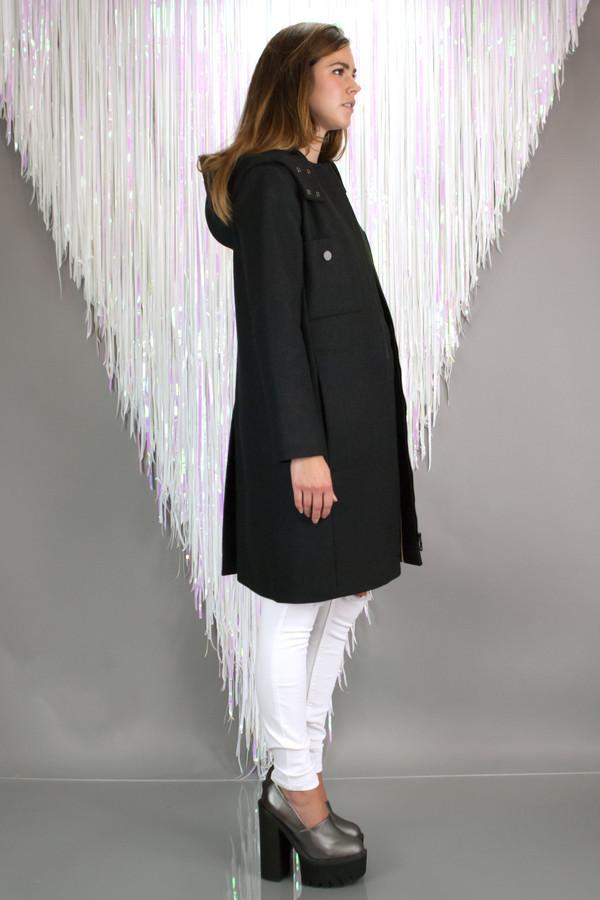 Orla Kiely Felted Wool Parka