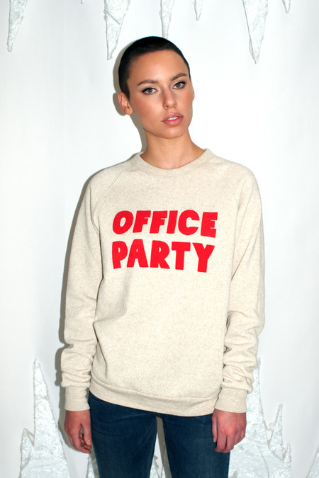RACHEL ANTONOFF Office Party Sweatshirt - RACHEL ANTONOFF