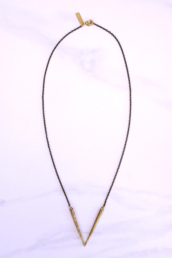 K/LLER COLLECTION Pistil V Necklace