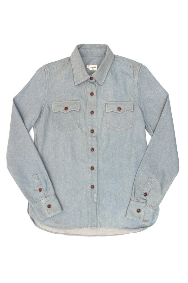 Bridge & Burn Bowie Denim Shirt