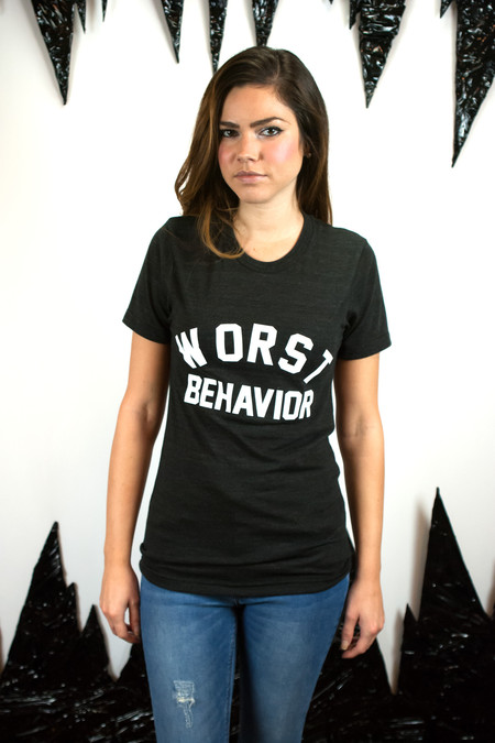 Private Party Worst Behavior Tee