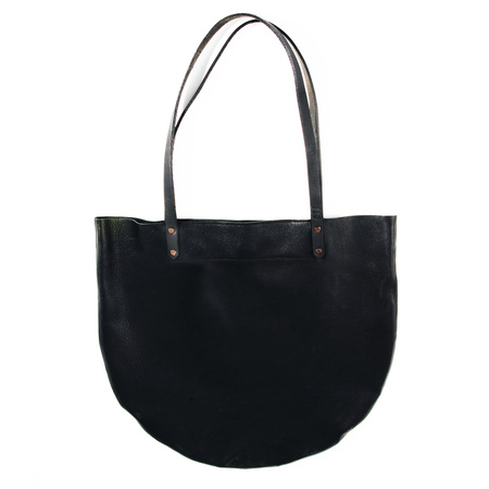 AW by Andrea Wong Half Moon Tote   BLACK