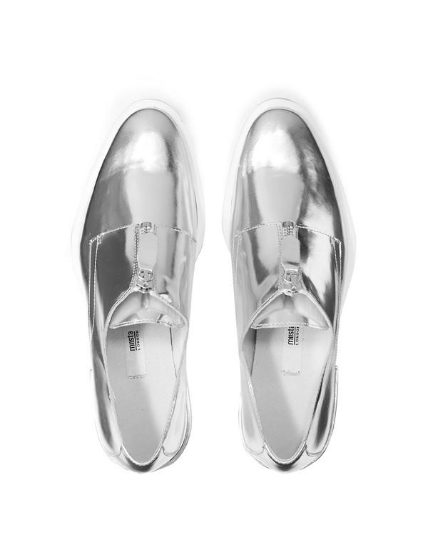 Miist Rosana Silver Shoes