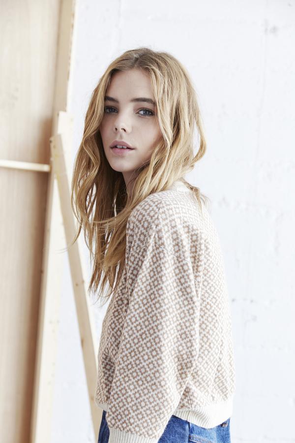 Callahan Aztec Crop Sweater