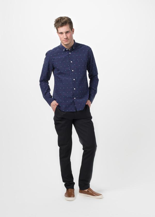 Men's You Must Create Dot Button Down Shirt