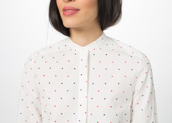 You Must Create Dot Placket Shirt