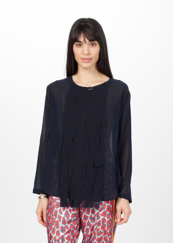 Lareida Nell Shirt - Midnight Blue