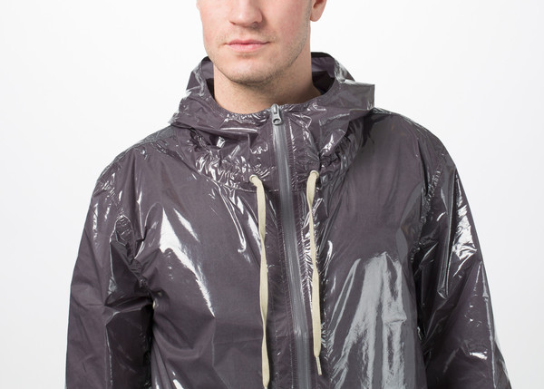 Men's You Must Create Nylon Zip Hoodie