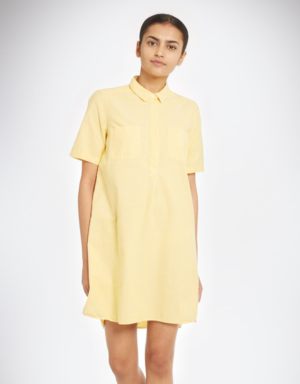 YMC Lightweight Oxford Shirt Dress