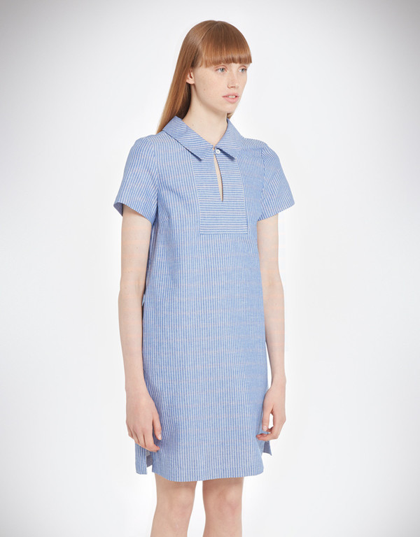 YMC Linen Stripe Dress