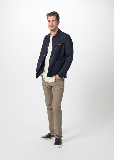 Men's Shockoe Five Pocket Linen Trouser