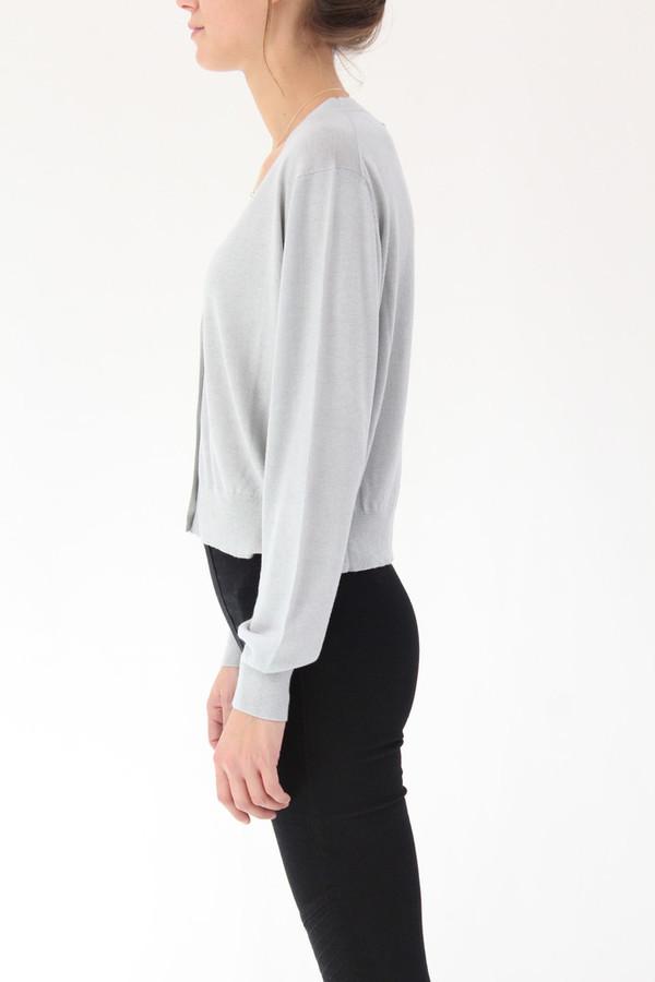 Lina Rennell Classic Knit Cardigan