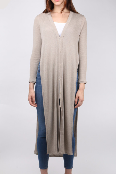 Area Oceanie Long Cardigan