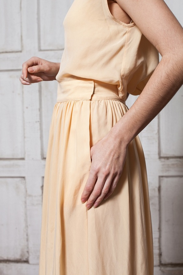 Jesse Kamm Ranch Skirt - bellini