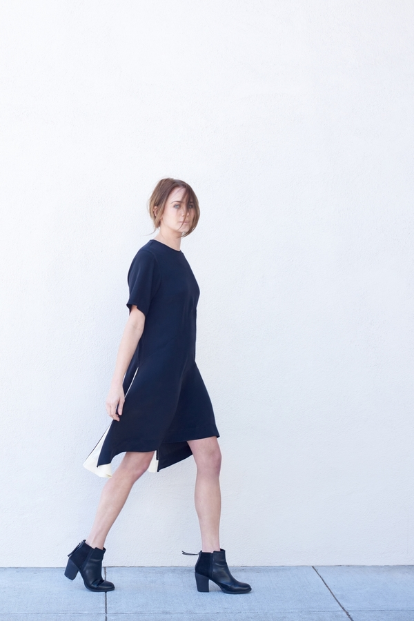 Kamperett Sutro Silk Swing Dress