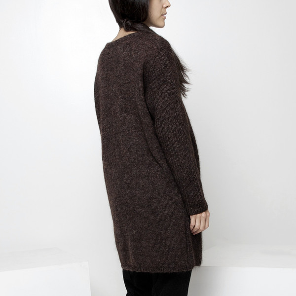 7115 by Szeki Mohair Pullover Tunic