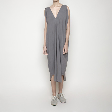 7115 by Szeki Reversible Maxi Dress- Gray SS16