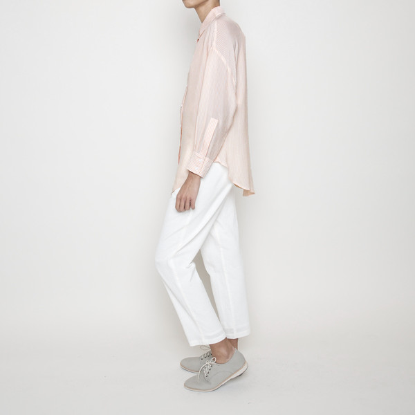 7115 by Szeki Striped Dolman Shirt R16- Blush Stripes
