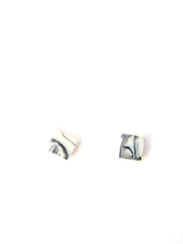 COFIELD  Ceramic Square Studs