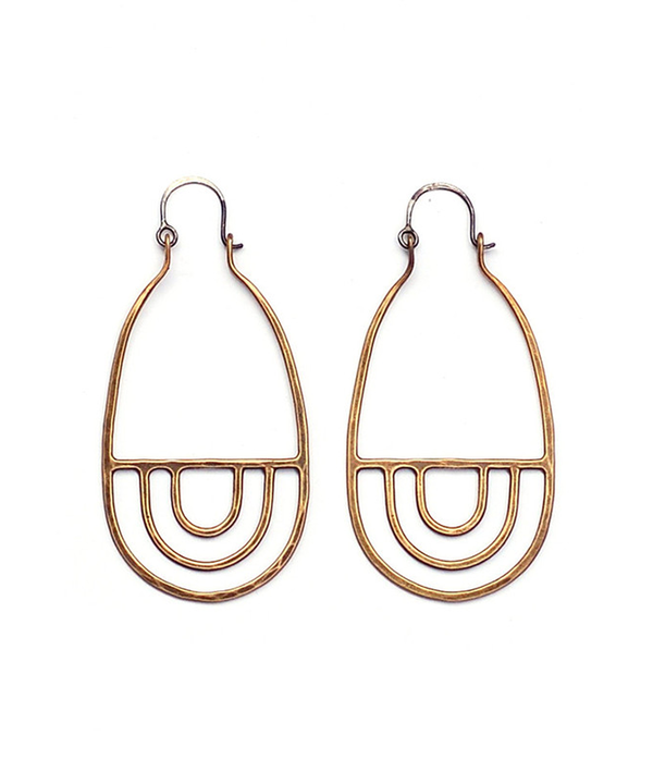Trio Trio Arcos Earrings
