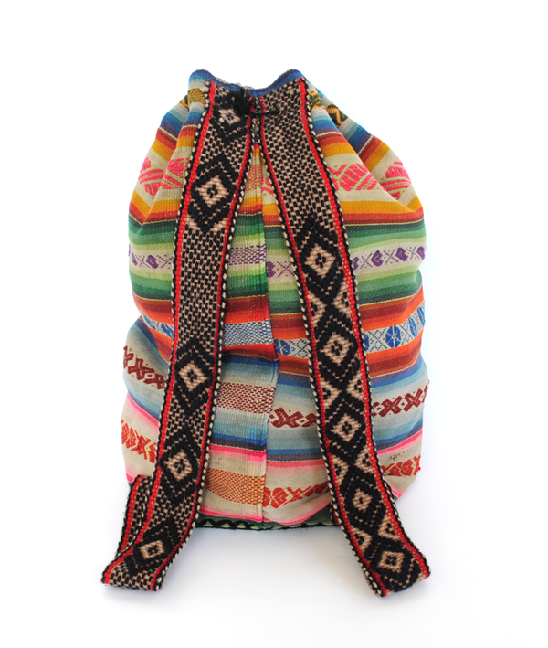 Handmade Machu Picchu Backpack