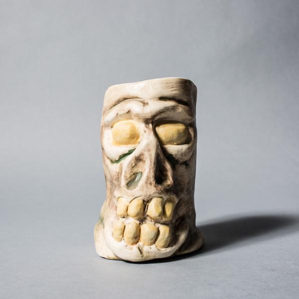 Marked Goods Tiki Skull Mug