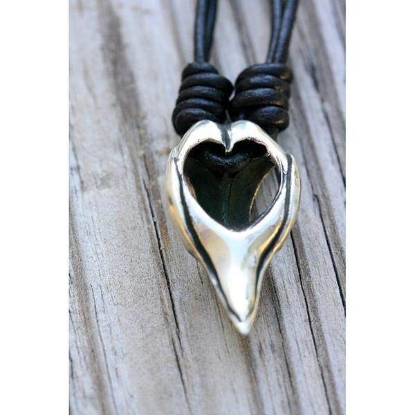 Unisex Rebel Ideal Bird Skull Pendant/Amulet on a Leather Cord