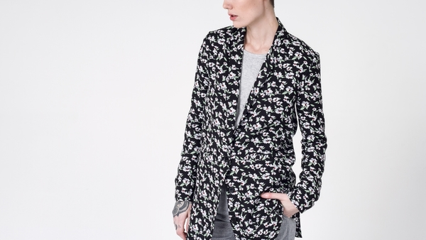 Lucca Couture x Wildfang The Barrymore Long Blazer