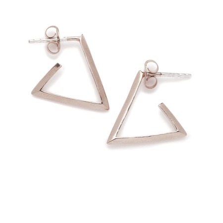 BING BANG JEWELRY / B.O. ANNEAU TRIANGLE - ARGENT