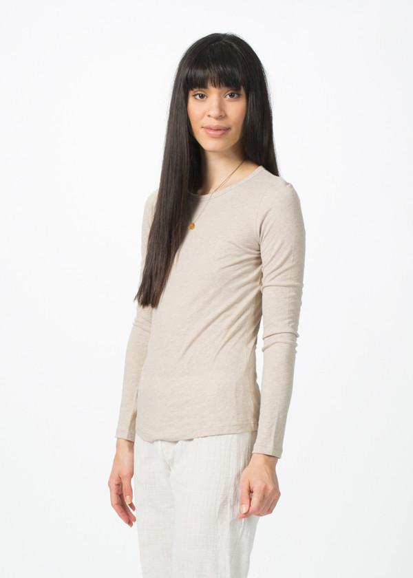Organic by John Patrick Long Sleeve Shirttail