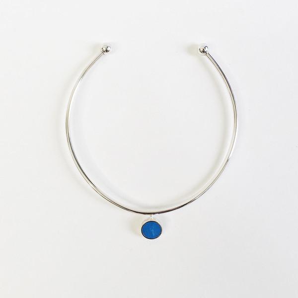 Karenn.la Blue Circle Choker