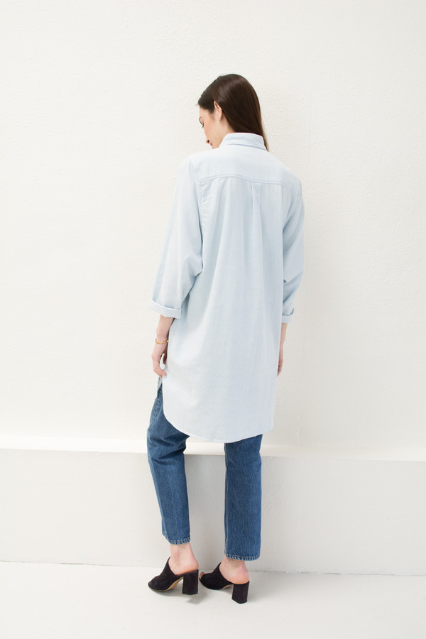 Micaela Greg Denim Button Up
