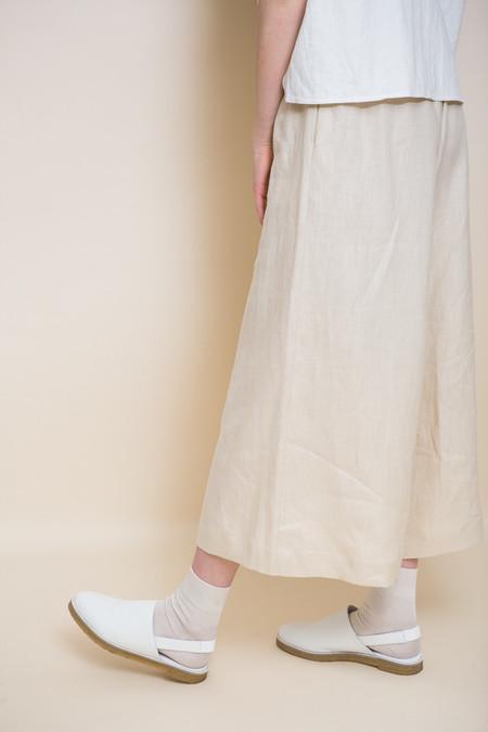 Miista Elie Slingback / White Leather