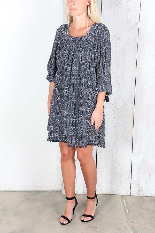 APIECE APART SAYULITA SQUARE NECK DRESS