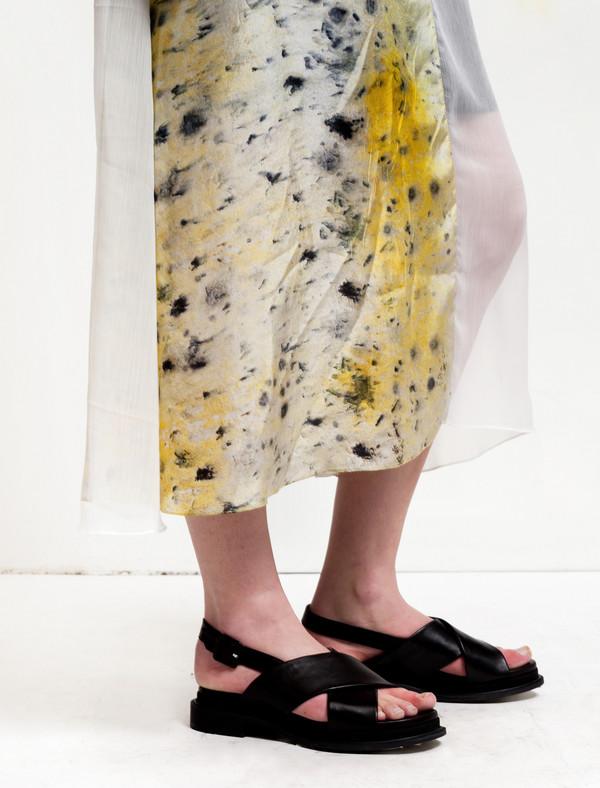 Christopher Raeburn Panelled Sleeveless Dress Saffron