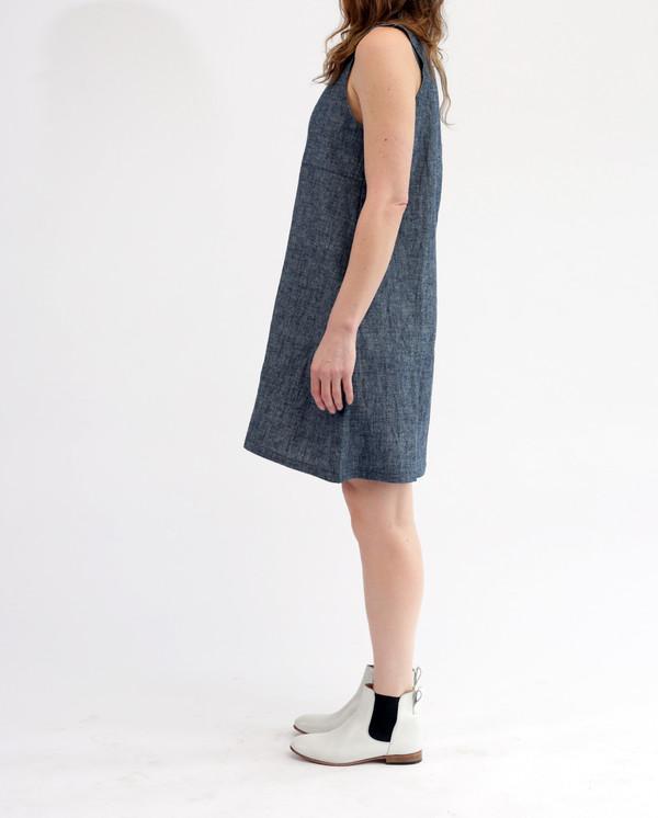 Nahanni Arntzen Franky dress, organic indigo