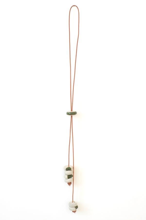 Jujumade sliced stack necklace