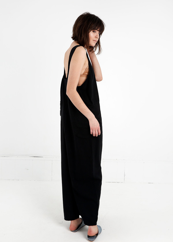Study NY Black Oversized Tank Suit