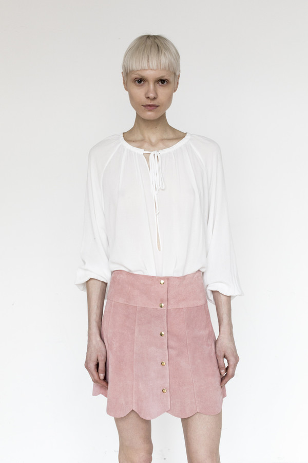 Stoned Immaculate Rayon Morrison Blouse