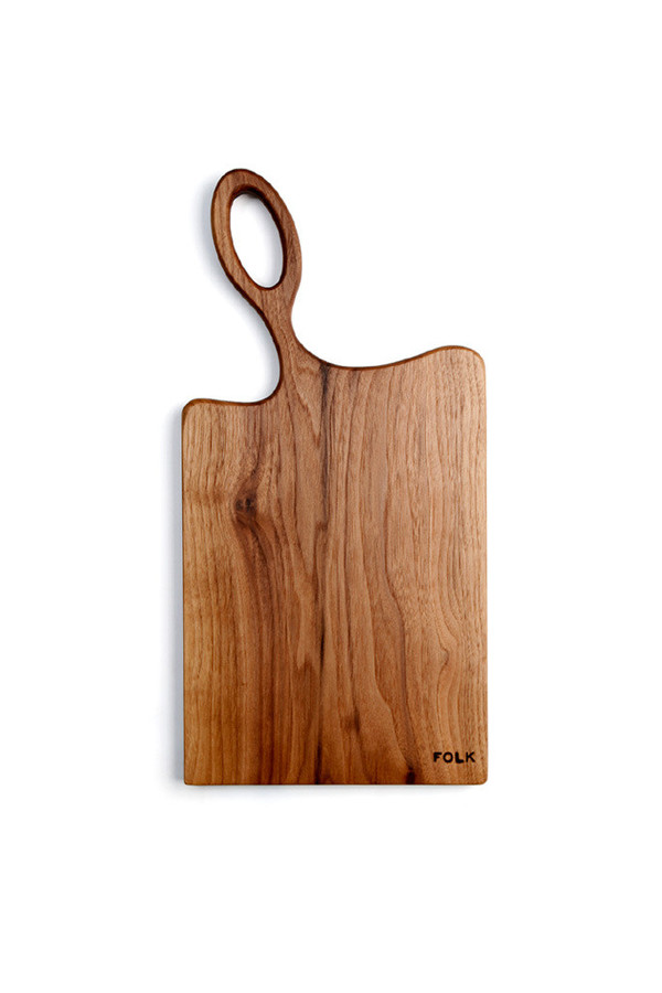 Folk Bread Board Small