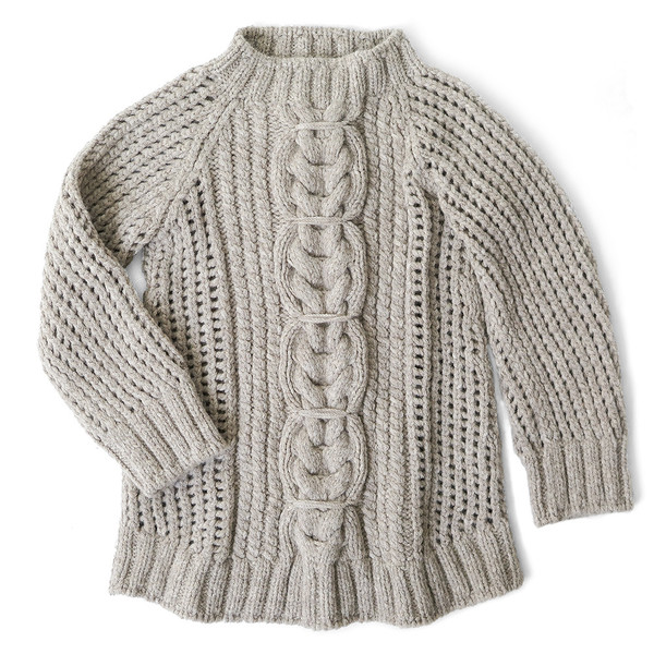 Erica Tanov alpaca fisherman sweater