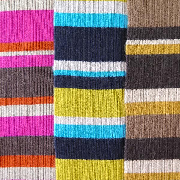 Erica Tanov cashmere striped scarf