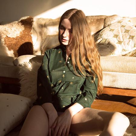 Erica Tanov  étoile lisbet blouse