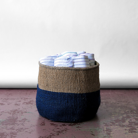 far and wide handwoven basket