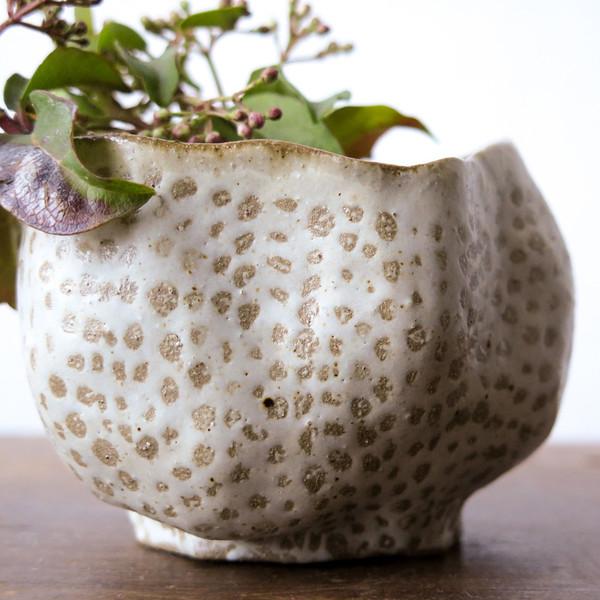 Hardie Cobbs Loofah Ceramic Vessel