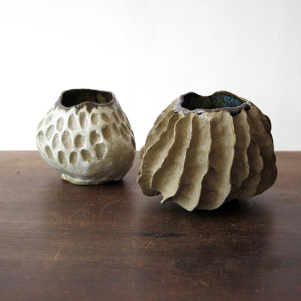 hardie cobbs raw sponge ceramic vessel