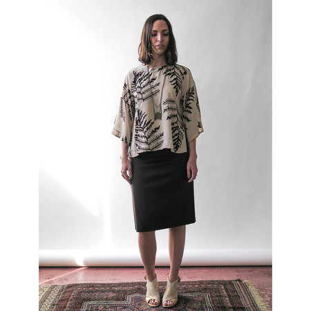 Erica Tanov smith cashmere skirt