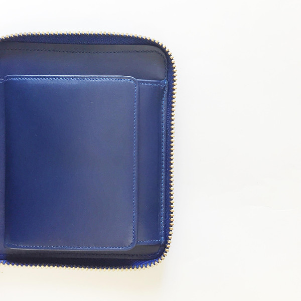 Comme des Garcons - Luxury Group Blue French Wallet