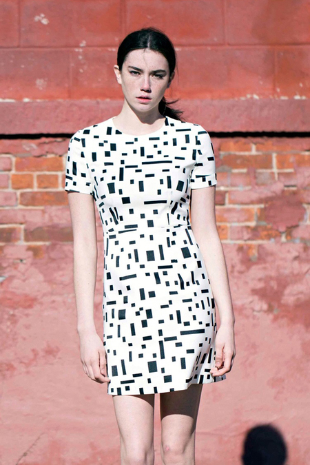 Lookast Square Point White Dress