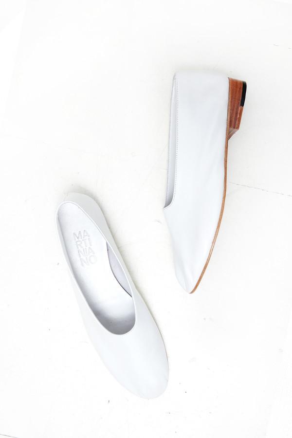 Martiniano Glove Flat - White
